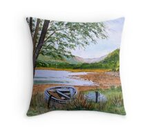 Apple Cross Bay...Ross-Shire. Throw Pillow