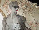 Mannequin with parasol by awefaul
