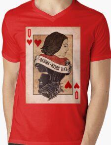 Queen of Hearts: Regina Mills Mens V-Neck T-Shirt