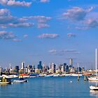 Cityscape...,Williamstown,Melbourne, Australia by Max R Daely