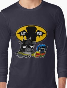 dark lord batpug Long Sleeve T-Shirt