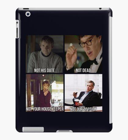 Sherlock BBC Cast iPad Case/Skin