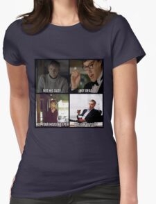 Sherlock BBC Cast Womens Fitted T-Shirt