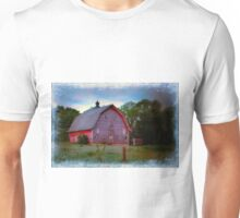 Empty Barn In Grundy Unisex T-Shirt