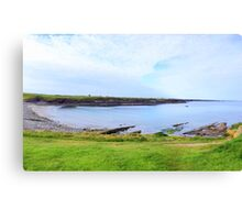 White Strand Beach - Clare, Ireland Canvas Print
