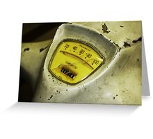 Lambretta - Speed Dial Greeting Card