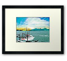 Better Days Parker, Florida Framed Print