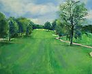 Fairway to the 11th Hole by Michael Creese