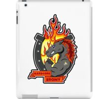 Hardcore Brony  iPad Case/Skin