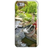 Our Neighborhood Fountain iPhone Case/Skin
