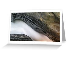 A Gorge - Water at Work Greeting Card