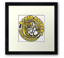 RAPID RAIDERS - DIGITAL DUST BUSTERS Framed Print