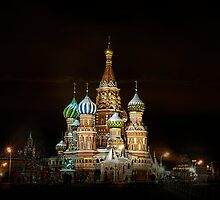 Cathedral of Basil the Blessed. Moscow by Gouzelka