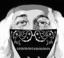 L.A Quaker bandana Sticker