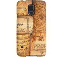 Cork Art Samsung Galaxy Case/Skin