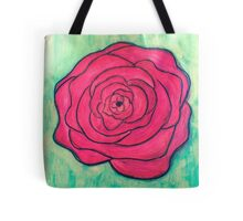 Rose Doodle Tote Bag