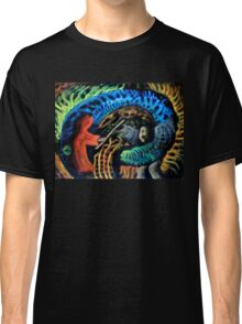 Shaman vs. Wizard Classic T-Shirt