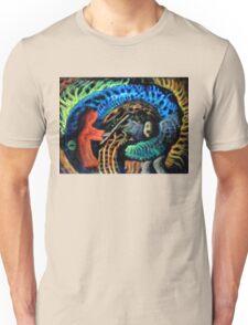 Shaman vs. Wizard Unisex T-Shirt