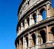 Roman Coliseum by Day by Alberta Brown Buller
