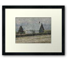 North Shore Snowstorm Framed Print