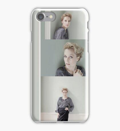 Gillian Anderson #1 iPhone Case/Skin
