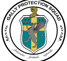 Official Crest of The Gally Protection Squad by wecallthemblade