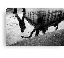 Walk your life away Canvas Print