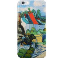 Van Gogh, A Study of a Straw Hut iPhone Case/Skin