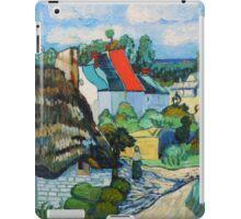 Van Gogh, A Study of a Straw Hut iPad Case/Skin