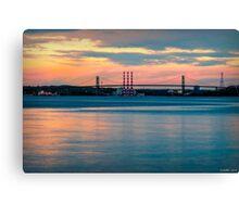 Sunset on the A Murray MacKay Canvas Print