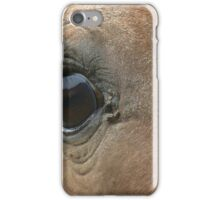 Horse's Eye View iPhone Case/Skin