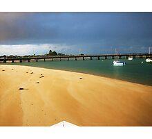 Sand and Sea Photographic Print