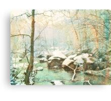 Winter's Kiss Canvas Print