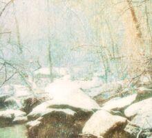 Winter's Kiss Sticker