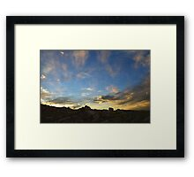 When Troubles Disappear Framed Print