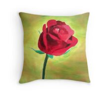 Enchanted Rose Throw Pillow