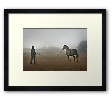 Whatever the weather ... Framed Print