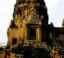 Sunrise on Angkor Wat IV - Angkor, Cambodia. by Tiffany Lenoir