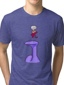 Helpful monkey Tri-blend T-Shirt