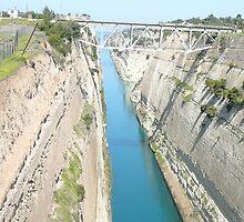 Corinth Canal by dimpdhab