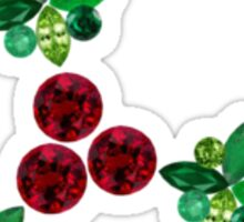 Holly Leaves Sticker