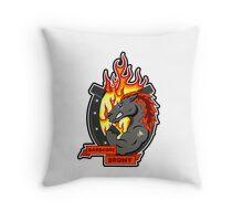 Hardcore Brony  Throw Pillow