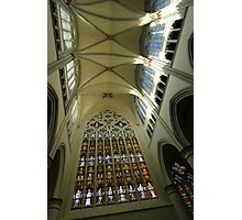 Stained glass windows of Altenberg Cathedral Photographic Print