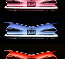 """The 1959 Chevrolet """"Eyebrow Tail Lights"""" by TeeMack"""