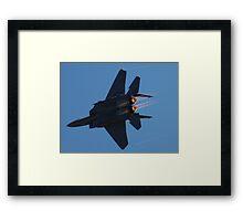 Strike Eagle Afterburner Framed Print