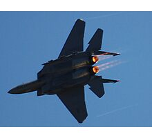 Strike Eagle Afterburner Photographic Print