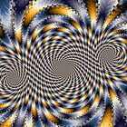 Swirl Fractal 2 by fractalposter