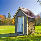 Ontonagon Outhouse by Bob Fox