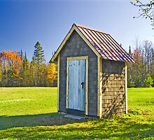 Ontonagon Outhouse by Bob Fox