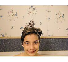 Shampoo Hairdo Photographic Print